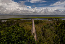 Long Pier Out To Bogue Sound, ...