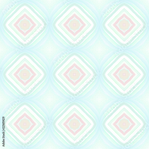 Photo Stands Psychedelic Seamless pattern background with multi-colored wavy lines.