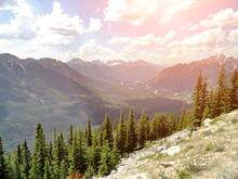 Sulphur Mountain Scenic Views, Banff, Alberta