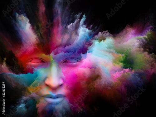 Acceleration of Painted Dream Fototapeta