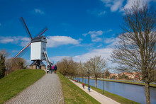 Windmill And The Canals Of The...
