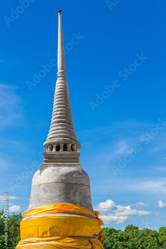 Spoed Foto op Canvas Bedehuis pagoda of Thai temple