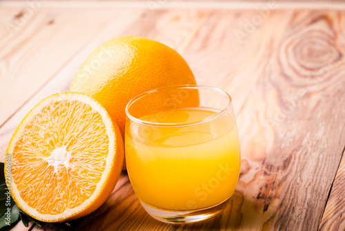Fruit orange juice