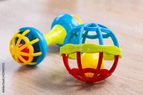 Funny colorful toys