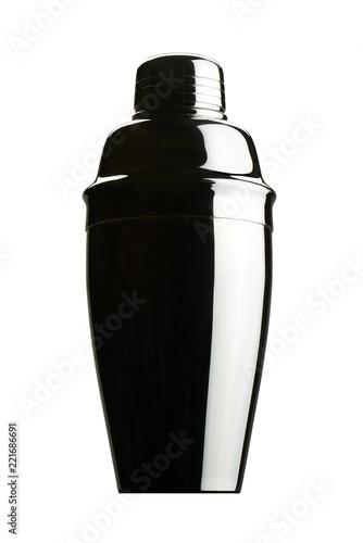 Fotografia  Cocktail shaker. Isolated on white background