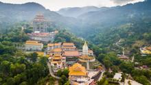 Kek Lok Si Chinese Temple Aerial Shot