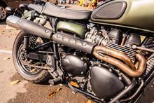 Big Custom Motorbike