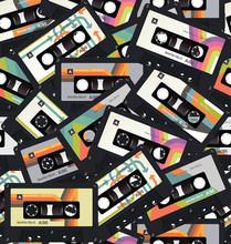 Retro Vintage Cassette Tape Se...