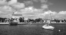 Historic City Of St. Augustine, Florida Riverfront Landscape