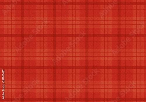 Fotografie, Obraz  赤いチェックの布