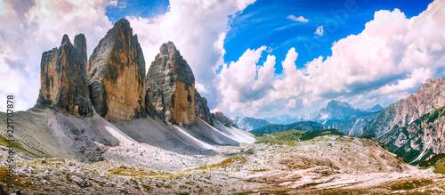 Photo Tre Cime di Lavaredo panoramic view