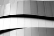 canvas print picture - Abstract background architecture lines. modern architecture detail
