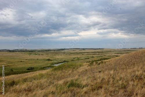 Foto op Plexiglas Bleke violet hills