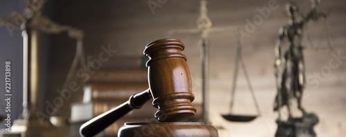Law concept Fototapete