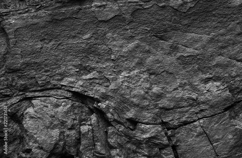 Tuinposter Stenen Background from natural texture of stone surface. Stone surface black and white texture.