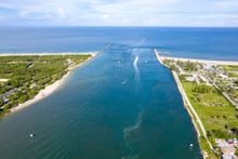 Inlet To Atlantic Ocean At For...