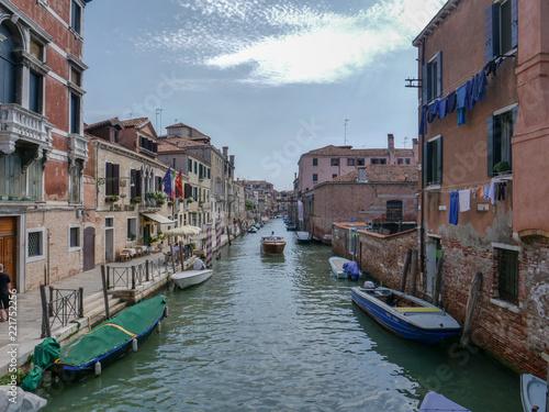 Foto op Plexiglas Venetie Venice, Italy, Venetian Canals in summer