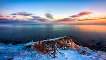 Fantastic Sunset Clouds Over L...