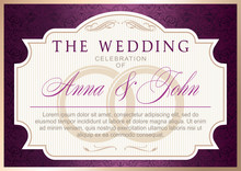 Wedding Invitation Template. G...
