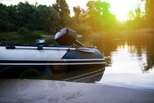 Fisher Inflatable Motor Boat O...