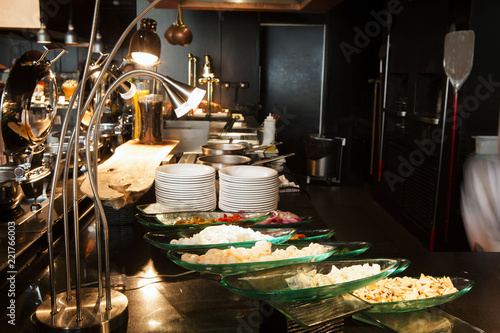 Deurstickers Kinderkamer Breakfast is ready, the service
