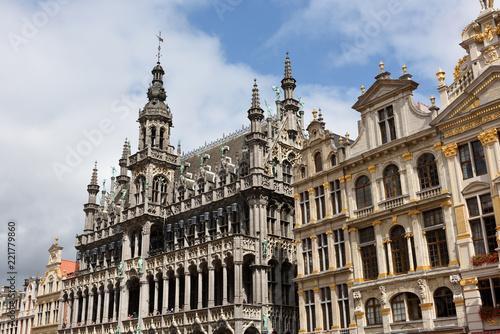 Foto op Canvas Brussel blick auf grand-place in brüssel