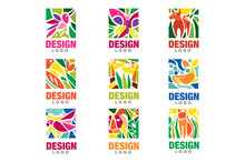 Design Lodo Set, Labels With P...