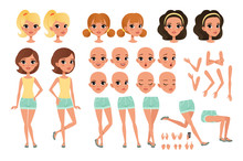Teenager Girl Character Creati...