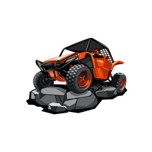 Off-Road ATV Buggy, Rides In T...