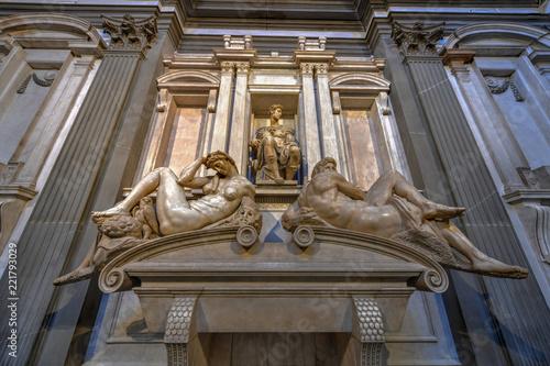 Fototapeta Medici Chapel - Florence, Italy obraz