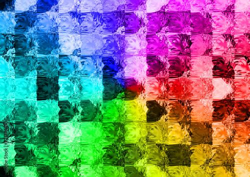 Foto  カラフルなモザイクタイル