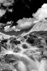 Obraz na SzklePanorama alpino, Val grande, Italia