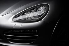 Car Detailing Series: Clean Headlights Of Gray SUV