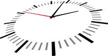 Vector Illustration Of Clock F...