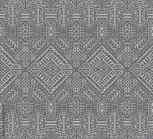 Foto auf AluDibond Boho-Stil Creative Ethnic Style Vector Seamless Pattern