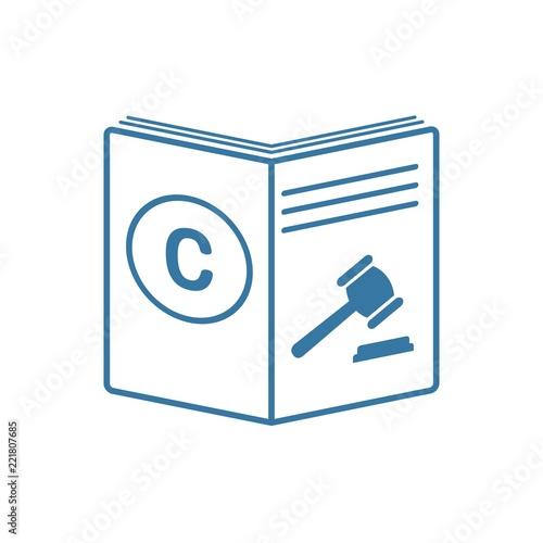 Fotografie, Obraz  Защита интеллектуальной собственности в суде.