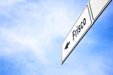 Signboard Pointing Towards Fri...