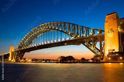 Deurstickers Australië Harbour bridge, Sydney, Australie