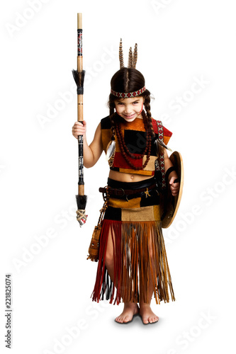 Fotomural Native Indian Girl