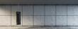 canvas print picture - Boxsack vor Wand Hintergrund im Fitnesscenter