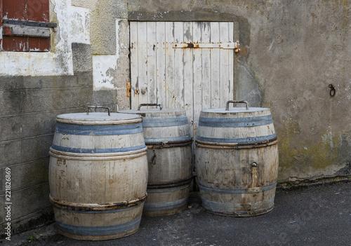 Fotografía  Three Wine Barrels Sancerre
