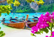 Thailand Phi Phi Island Beach ...