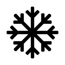 Snowflake Icon Or Logo. Christ...