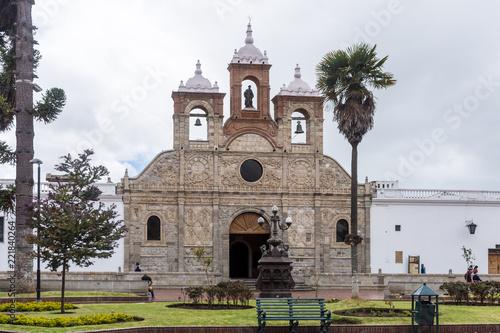 Keuken foto achterwand Zuid-Amerika land Cathédrale de San Pedro, Riobamba, Équateur