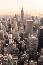 Manhattan Downtown Skyline Pan...