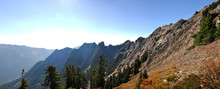 Central Cascades Panoramic View