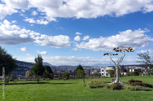 Keuken foto achterwand Zuid-Amerika land Parque Itchimbía, Quito, Équateur