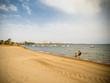 Playa Honda Beach; one of the tourist beaches of the Mar Menor