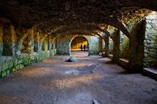 Cellar Of Ruined Krzyztopor Castle, Poland