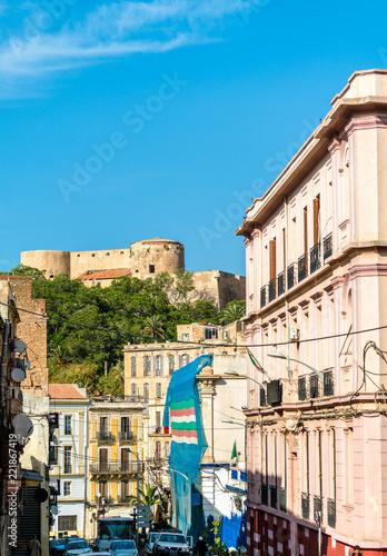 Buildings in Oran, a major city in Algeria